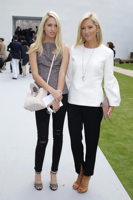 Princesa Marie-Chantal de Grecia e hija