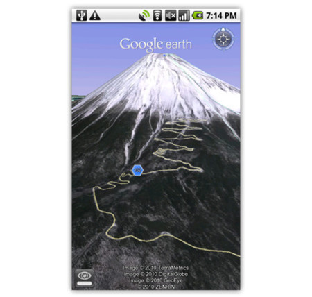 Google Earth disponible para Android 2.1