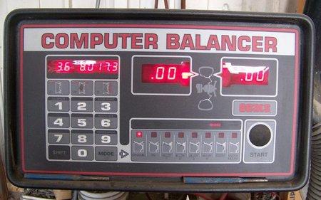 Equilibradora neumáticos