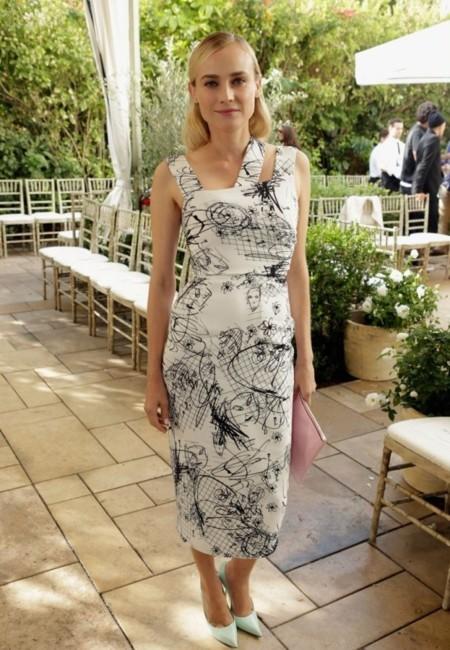 Diane Kruger Cushnie et Ochs fiesta