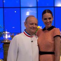 Eva González, divina en la final de Masterchef con un vestido de Dolores Promesas