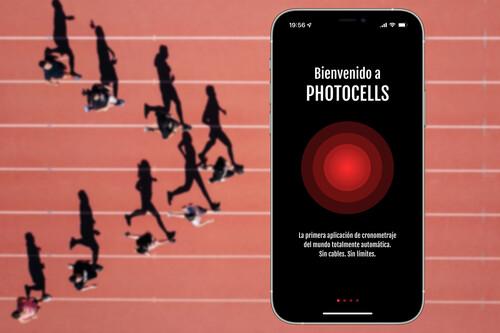 Photocells: la app con la que cronometrar fácil y automáticamente usando simplemente nuestro iPhone