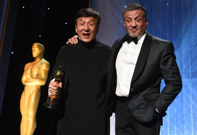 Jackie Chan Sylvester Stallone