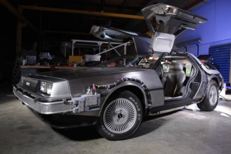 El DeLorean está hecho un chaval