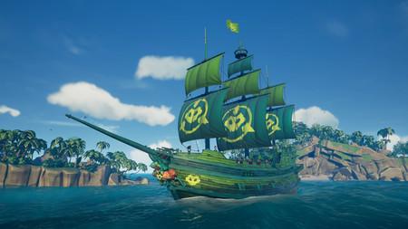 Battletoads celebra su lanzamiento colándose en Sea of Thieves con este nuevo barco de diseño exclusivo