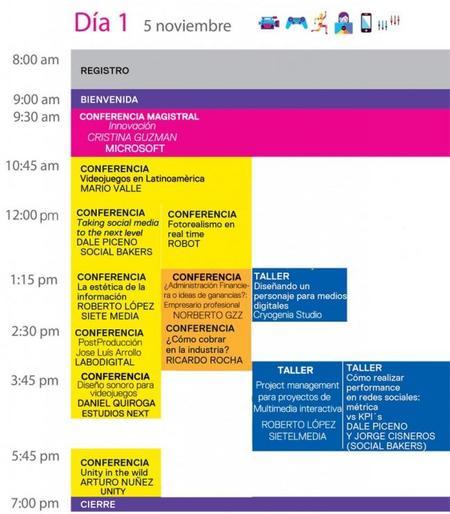 Agenda Congreso MIMEC 2014