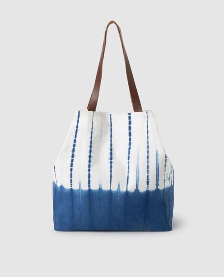 Bolsa De Playa Enfasis Tie Dye Azulon