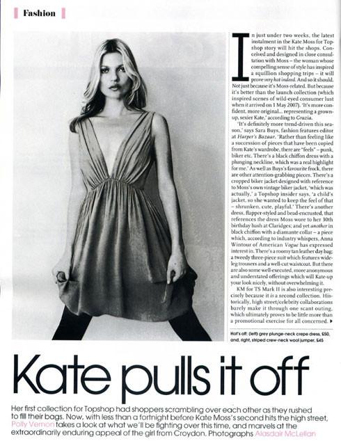 Foto de Segunda colección de Kate Moss para TopShop (2/4)