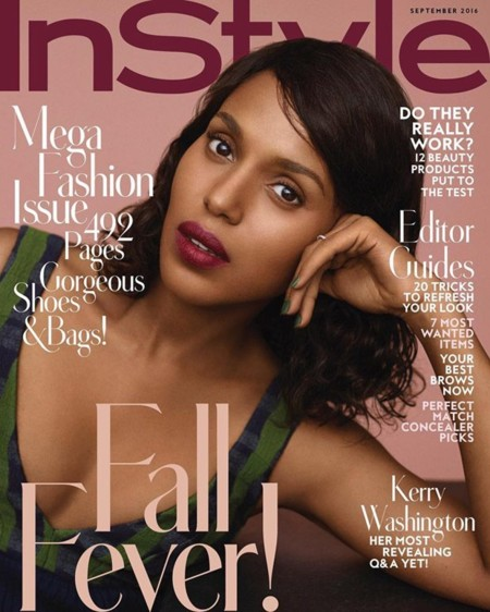 InStyle: Kerry Washington