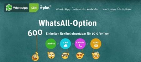 """La """"tarifa WhatsApp"""" llega a Alemania, la aplicación ya no es el enemigo"""