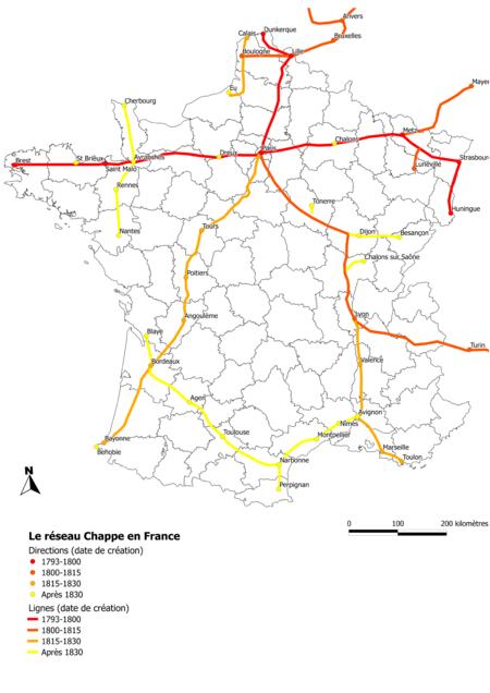 Reseau Chappe77