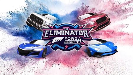 Forza Horizon 4 también quiere probar suerte en el campo de los Battle Royale al incorporar gratuitamente el modo The Eliminator