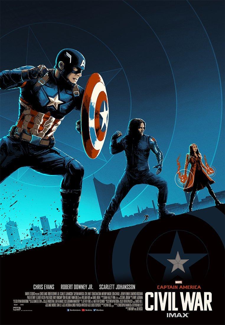 Foto de 'Capitán América: Civil War', los carteles de la película (19/22)