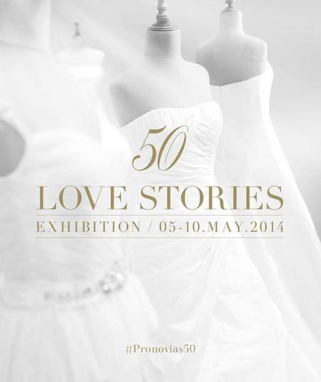 Pronovias cumple 50 años y lo celebra con su exposición '50 love stories'