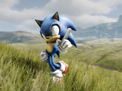 Así luciría Sonic the Hedgehog en Unreal Engine 4