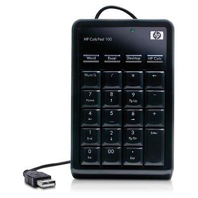 Hp CalcPad 100, teclado numérico con un diseño muy cuidado