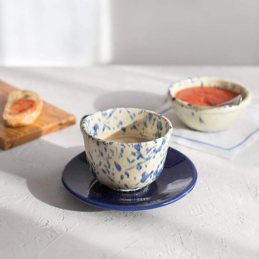 Tazón de cerámica de Úbeda