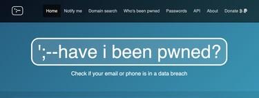 Have I been pwned?, comprueba si tu dirección de correo ha sido comprometida