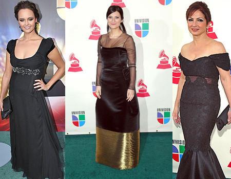 La alfombra roja de los Premios Grammy Latino 2007