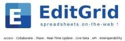 EditGrid, ahora en español
