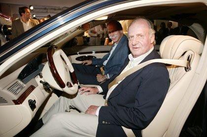 Un Maybach para el Rey Juan Carlos I