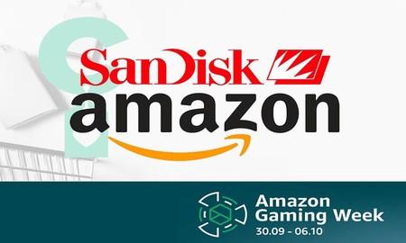 Tarjetas de memoria, pendrives y discos duros SSD portables rebajados: ofertas en almacenamiento SanDisk en la Gaming Week de Amazon