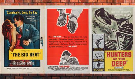 Una colección de pósters de películas antiguas se está digitalizando y subiendo a Internet