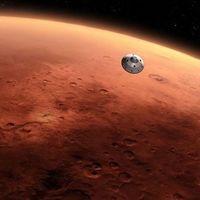 Así sería ir y volver de Marte a la velocidad de la luz: seis minutos de vídeo