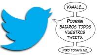 Twitter trabaja en una herramienta para exportar todos nuestros tweets