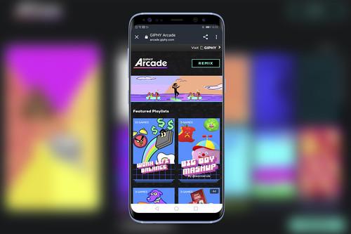 Giphy Arcade: la nueva plataforma para jugar y crear minijuegos desde tu smartphone y PC