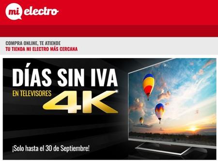 Días Sin IVA en televisores 4K en MiElectro: las siete mejores ofertas