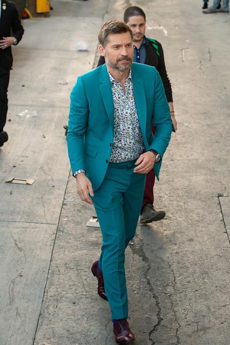 Nikolaj Coster Waldau Blue Suit Trend 3