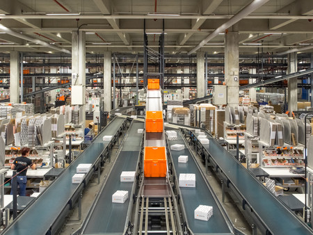 Zalando Se Zalando Logistics Fulfillment Center Erfurt