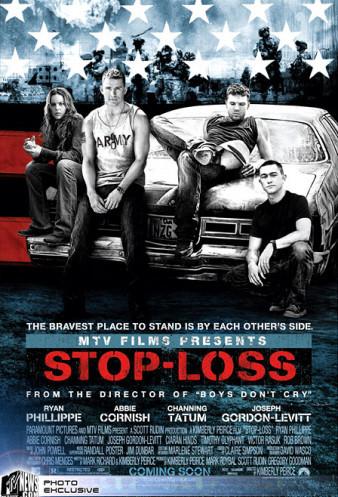Póster de 'Stop-Loss' ('Ausente'), de nuevo con Irak de fondo