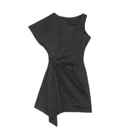 Zara Primavera-Verano 2011 vestido noche negro