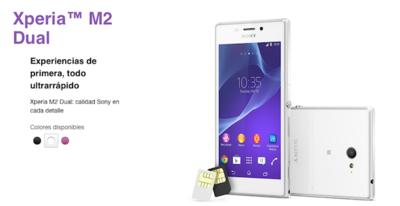 Sony Xperia M2 Dual, el primer smartphone Dual-SIM en llegar a México de manera oficial