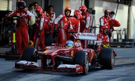 Ferrari se convierte en la más rápida en boxes