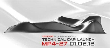 McLaren presentará un innovador MP4-27