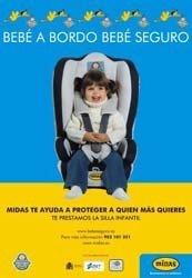 Bebé Seguro te presta una silla de coche