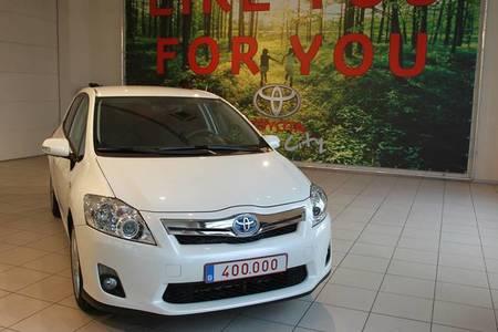 Toyota alcanza el vehículo híbrido 400.000 en Europa