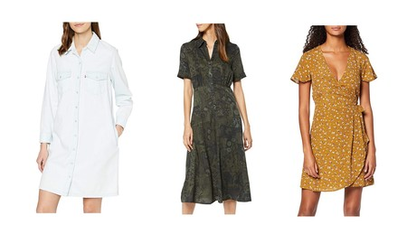 Ofertas en tallas sueltas de vestidos Levi's, Pepe Jeans o Desigual en Amazon para disfrutar desde mañana mismo