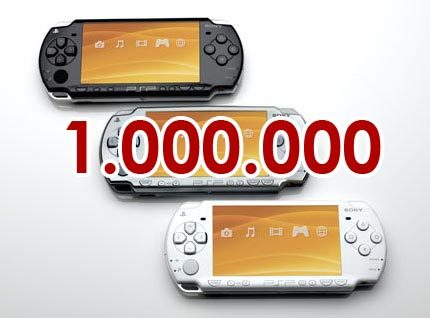 Sony vende un millón de PSP Slim en Japón