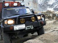 De Afganistán a Reino Unido con un Toyota Land Cruiser 75