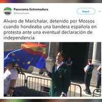 Álvaro de Marichalar, preso político: lo de Cataluña ya se ha convertido en una película de Berlanga