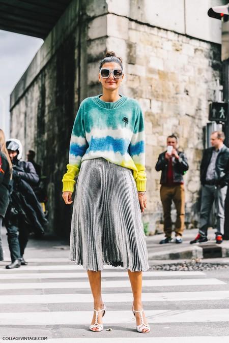 La calle siente pasión por las faldas midi plisadas. ¿Tienes ya la tuya?