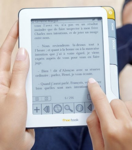 FnacBook, el Kindle con acento francés