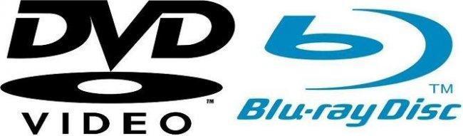 Logos de dvd y blu-ray