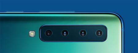 Samsung Galaxy A9 Detalle Camara Cuadruple