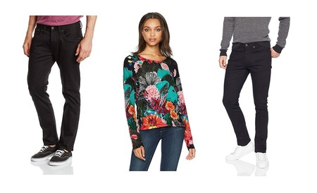 Ofertas en pantalones vaqueros, chaquetas y jerseys de marcas como Desigual, Pepe Jeans o Black Crevice por menos de 30 euros en Amazon