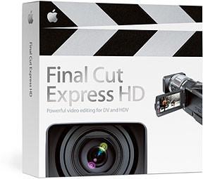Apple: Oficialmente Final Cut Express HD soporta la Intel GMA950